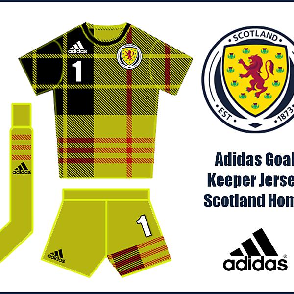 Adidas Goal Keeper - Scotland Home