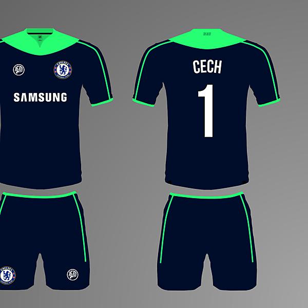 Chelsea Home Goalkeeper Kit