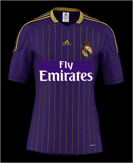 Real Madrid - Away jersey