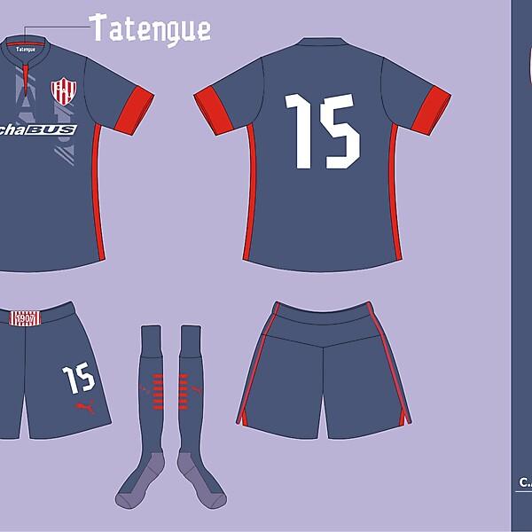 Union de Santa Fe Away kit ver 01