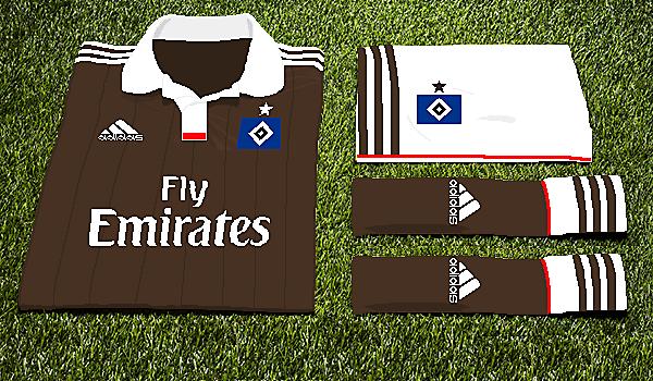 Hamburg Adidas Away - St. Pauli