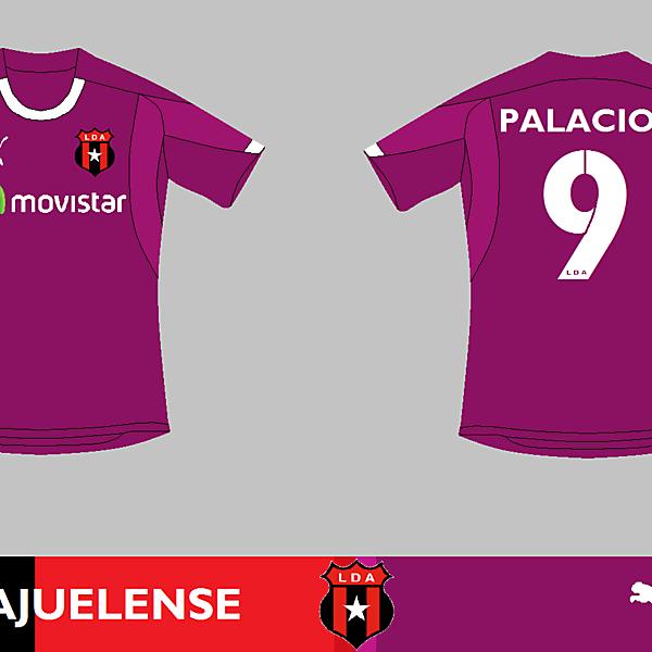 L.D. Alajuelense Away - Saprissa