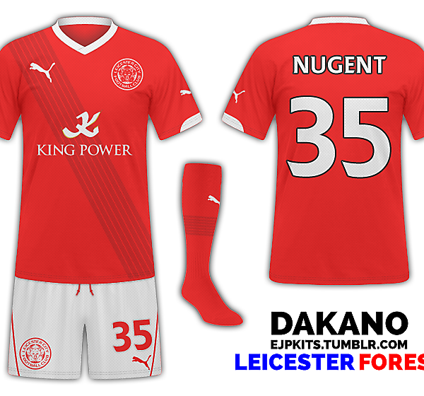 Leicester City Away (Nottingham Forest)