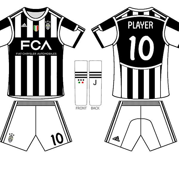 juve home kit 2015