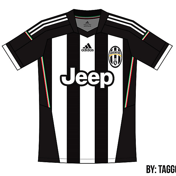 Juventus Adidas Home Kit