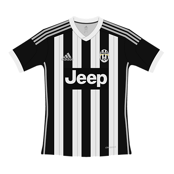 Juventus Adidas Home Kit