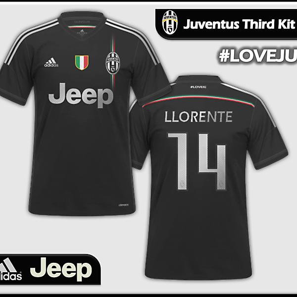 Juventus Adidas Third/Euro Kit