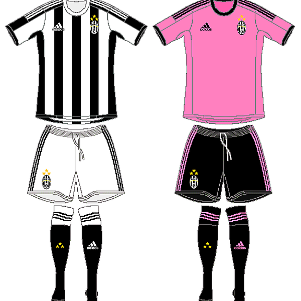 Juventus Home and Away V.1