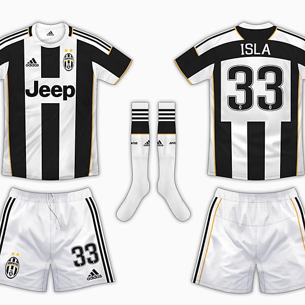 Juventus Home Kit - Adidas