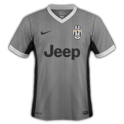 Juventus fantasy kits with Nike