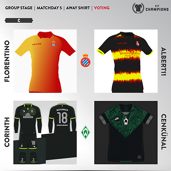 matchday 5 voting - group C