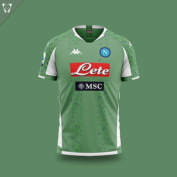 Napoli away concept