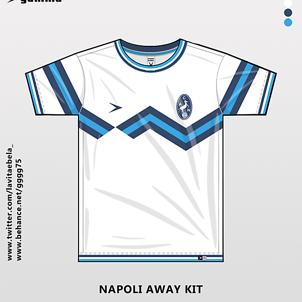 napoli away kit