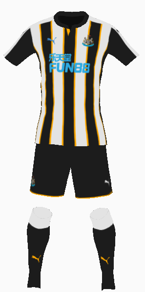 Newcastle United Home Kit