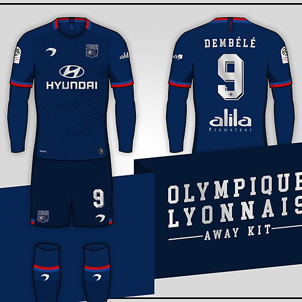 Olympique Lyonnais | Away Kit