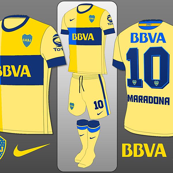 Boca Juniors Home Away Concept
