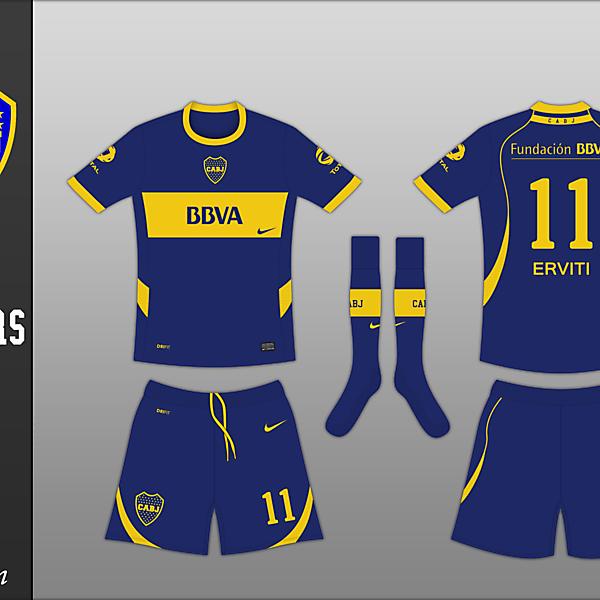 Kit Competition - Boca Juniors (closed)