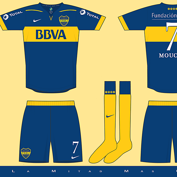 Kit Competition - Boca Juniors (closed)