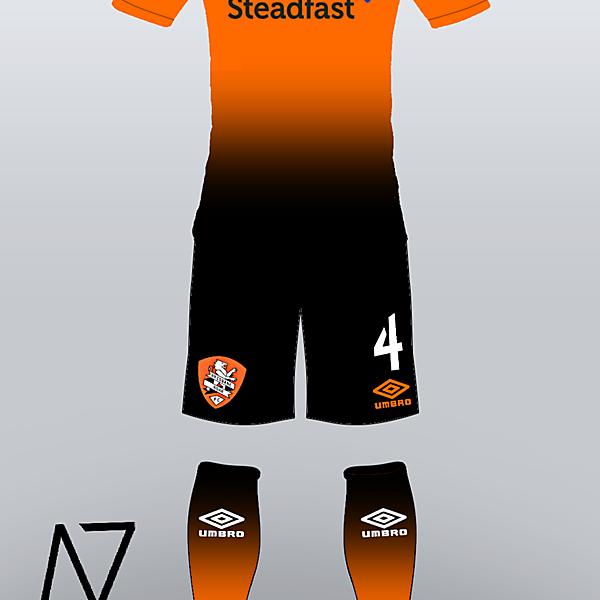 Brisbane Roar FC Kit