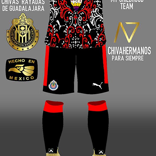 Chivas Rayadas De Guadalajara - Dia De Los Muertos Kit