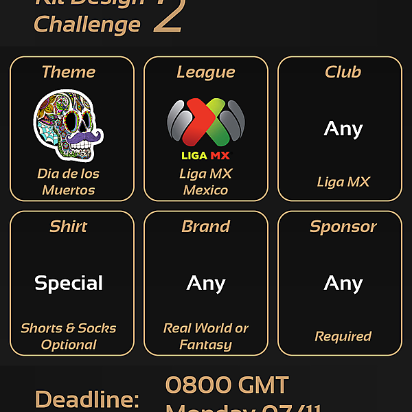 Kit Design Challenges [CLOSED]