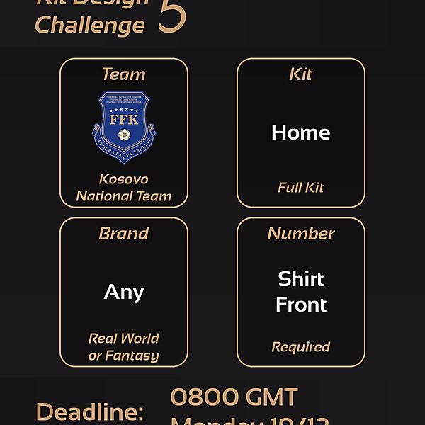 Kit Design Challenges [CLOSED]