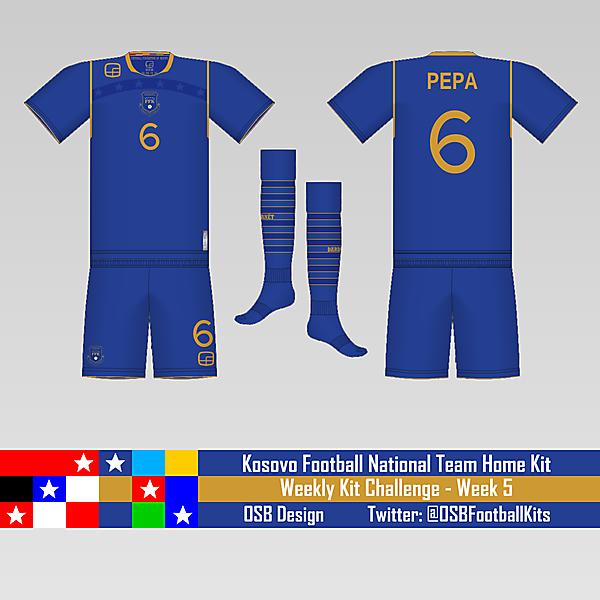 Kosovo National Team - Week 5