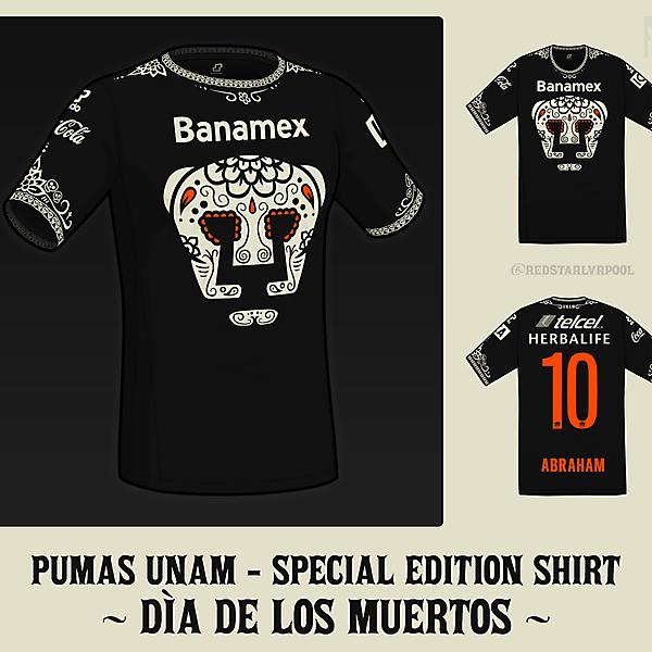 Pumas UNAM - Special Edition Día de los Muertos Shirt