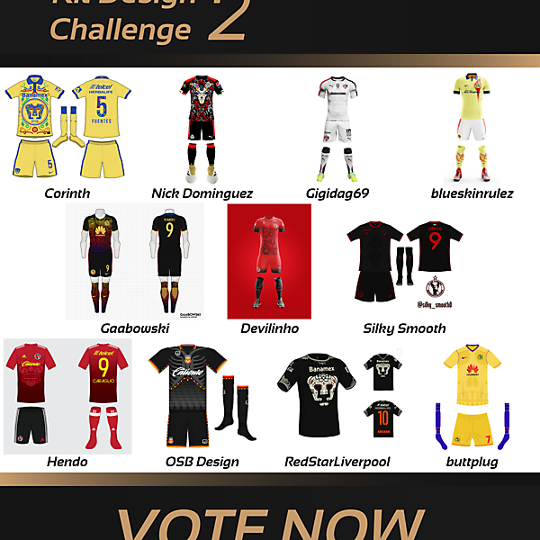 VOTING - Kit Design Challenge 2