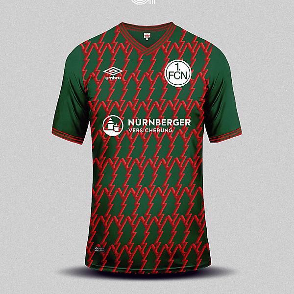 1. FC Nürnberg Umbro Christmas Special Edition Shirt