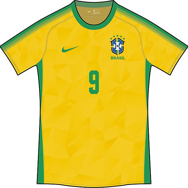 巴西队主场球衣
