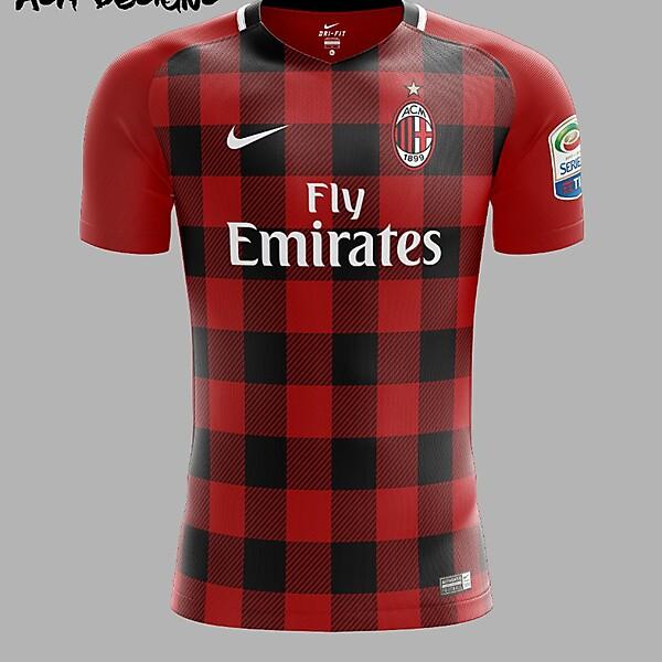 AC Milan Nike 2018 Home Kit