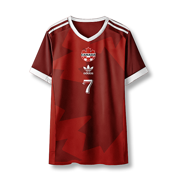 adidas Canada Home Shirt