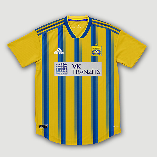 Adidas FK Ventspils Home Concept