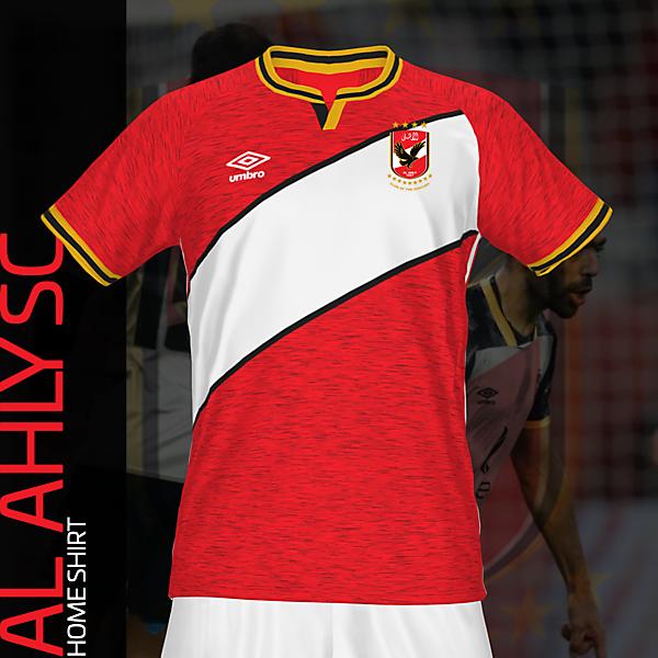 Al-Ahly SC Home Shirt| KOTW 187