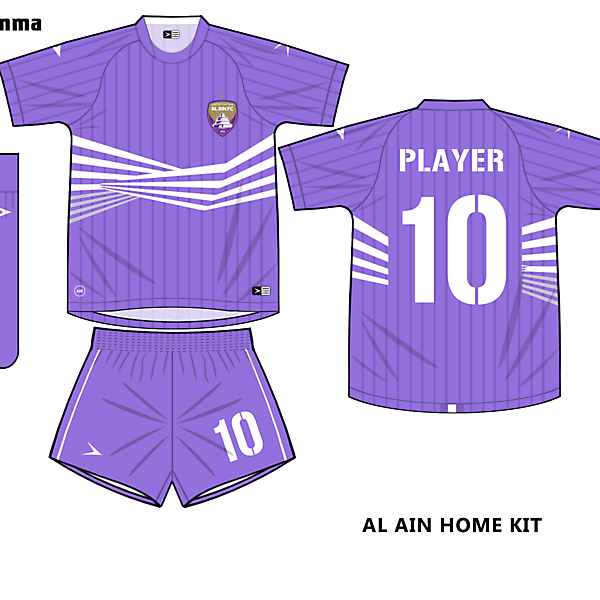 al ain home kit