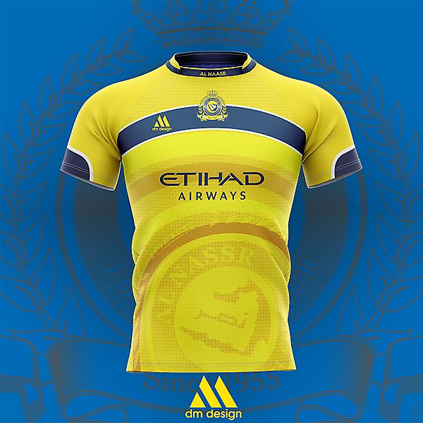 AL NAASR 1st jersey by MDdesign