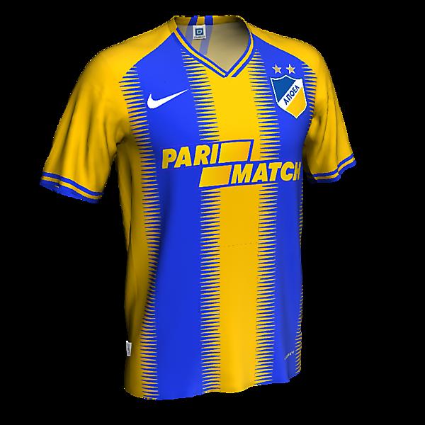 APOEL home kit x nike