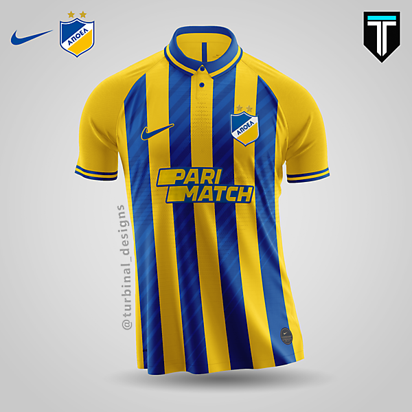 APOEL Nicosia x Nike - Home Kit