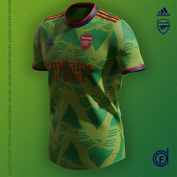 Arsenal Away Kit Concept