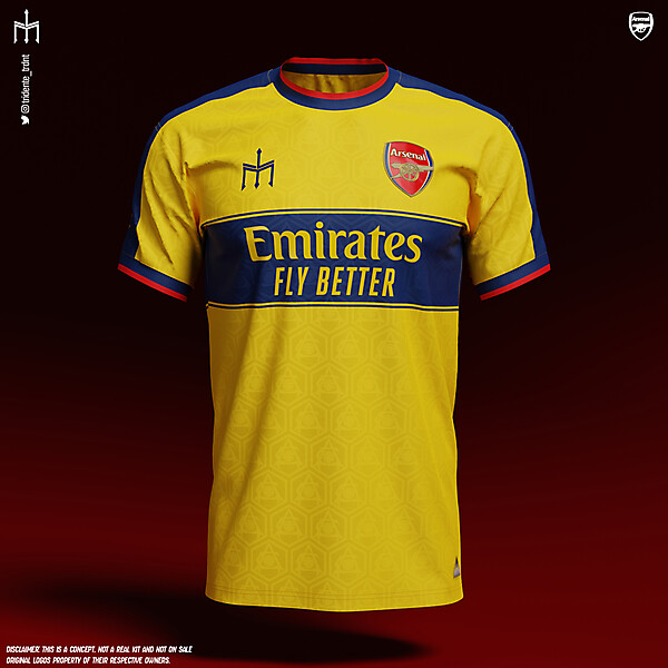 Arsenal Football Club X TRIDENTE | Home kit | KOTW