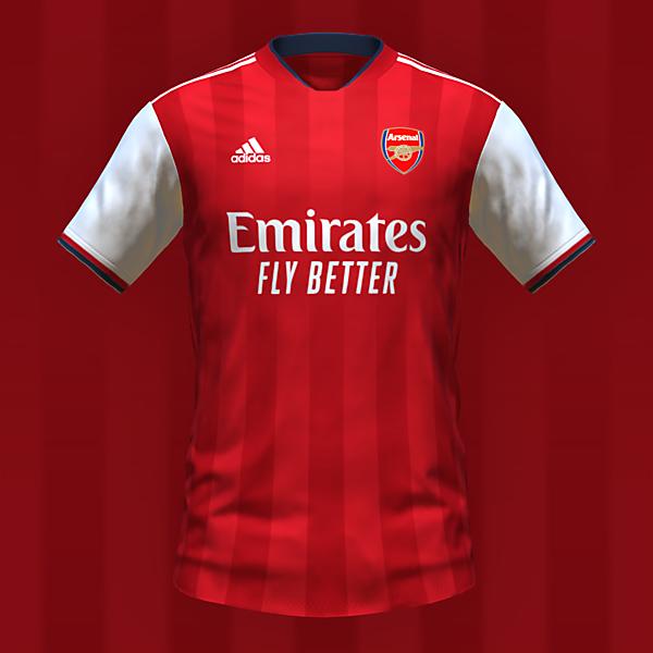 Arsenal home kit by @feliplayzz