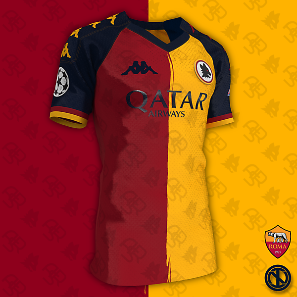 AS Roma | Champions League Kit Concept