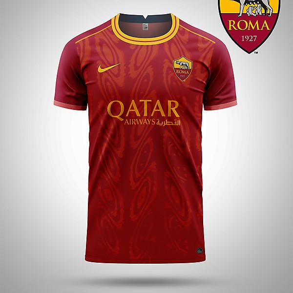 AS Roma home concept