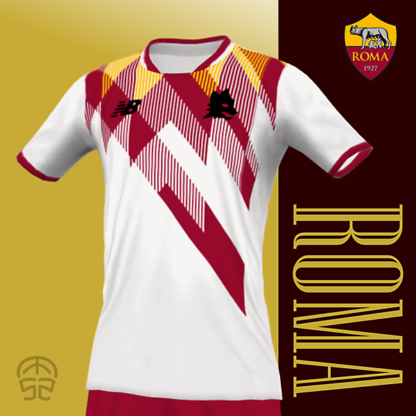 AS ROMA x NEW BALANCE (Away Kit)