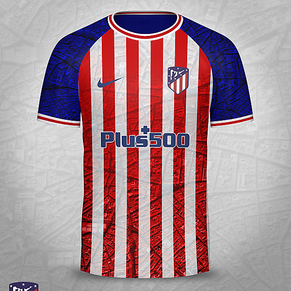 Atletico Madrid Home Shirt Concept