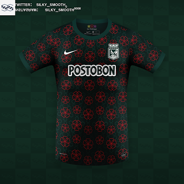 Atletico Nacional Nike @silky_smooth0