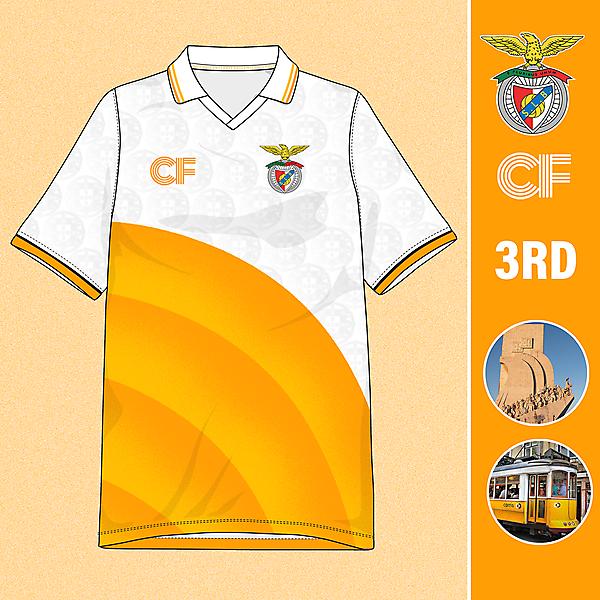 Benfica 3rd Shirt Concept