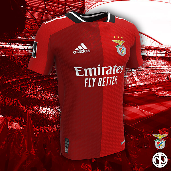 Benfica   Home Kit Concept