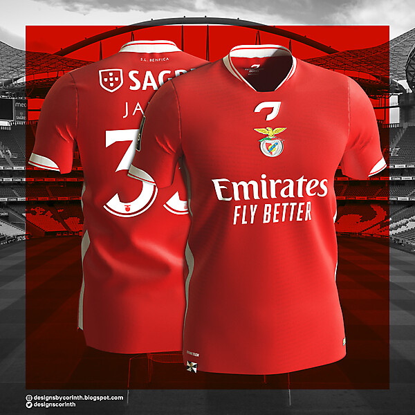 Benfica | Home Shirt
